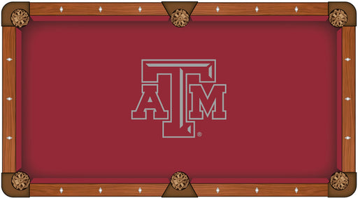 Texas A&M Custom Pool Table Cloth | Man Cave Authority | PTC7TexA-M