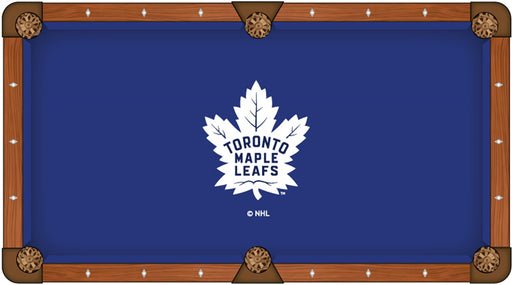 Toronto Maple Leafs Custom Pool Table Cloth | Man Cave Authority | PTC7TorMpl