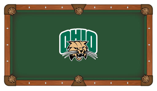 Ohio University Custom Pool Table Cloth | Man Cave Authority | PTC7UnivOH
