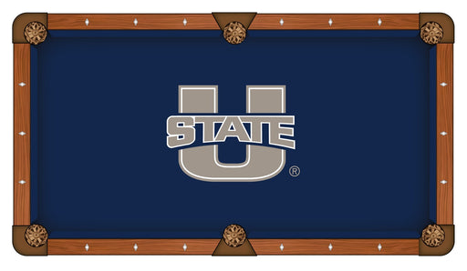 University of Utah State Custom Pool Table Cloth | Man Cave Authority | PTC7UtahSt