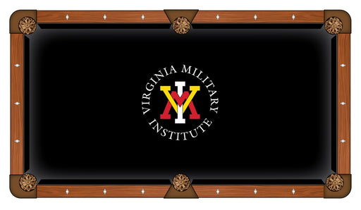 Virginia Military Institute Custom Pool Table Cloth | Man Cave Authority | PTC7VAMilI