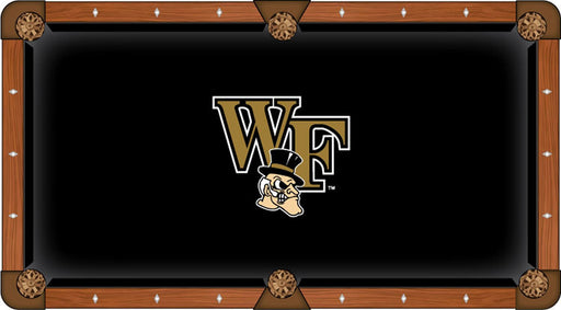 Wake Forest University Custom Pool Table Cloth | Man Cave Authority | PTC7WakeFr