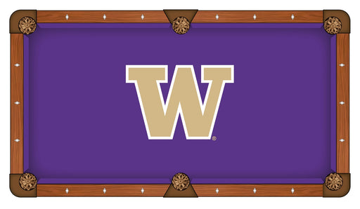 University of Washington Custom Pool Table Cloth | Man Cave Authority | PTC7WashUn