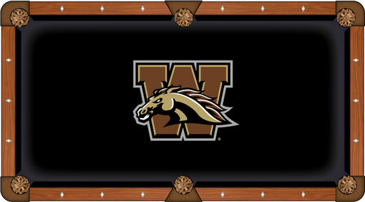 Western Michigan University Custom Pool Table Cloth | Man Cave Authority | PTC7WestMI