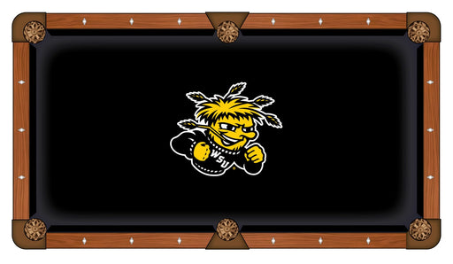 Wichita State University Custom Pool Table Cloth | Man Cave Authority | PTC7WichSt