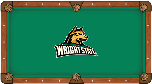 Wright State University Custom Pool Table Cloth | Man Cave Authority | PTC7WrtStU