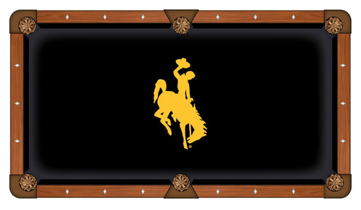 University of Wyoming Custom Pool Table Cloth | Man Cave Authority | PTC7Wymng