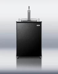 Summit 501 Series Beer Kegerator (Black) | Man Cave Authority | SBC501B