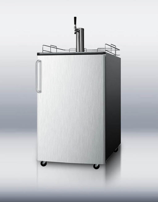 Summit 501 Series Beer Kegerator (Stainless Steel) | Man Cave Authority | SBC501BSSTB