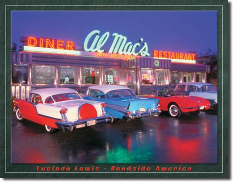 Al Mac's Diner Tin Sign | Man Cave Authority | 1129