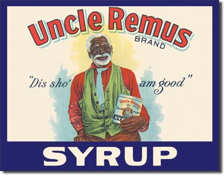 Uncle Remus Syrup Tin Sign | Man Cave Authority | 125