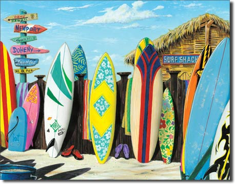 "Westmoreland ""Surf Shack"" Tin Sign 