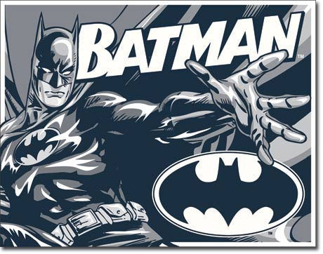 Batman Duotone Tin Sign | Man Cave Authority | 1731
