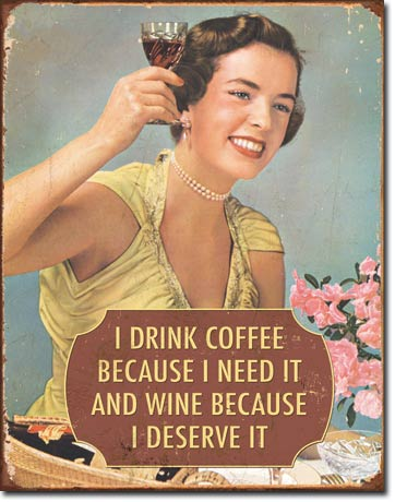 Coffee I Need It Tin Sign | Man Cave Authority | 1835