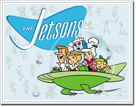 Jetson's Family Tin Sign | Man Cave Authority | 1854