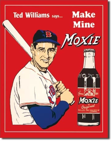 Ted's Moxie Tin Sign | Man Cave Authority | 60
