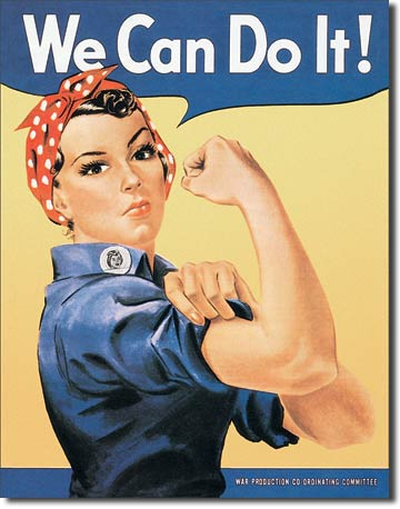 Rosie the Rivetor Tin Sign | Man Cave Authority | 796