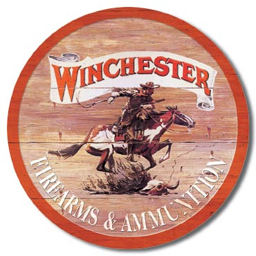 Winchester Express Tin Sign | Man Cave Authority | 975