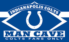 Indianapolis Colts Man Cave Flag 3ft x 5ft