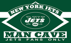 New York Jets Man Cave Flag 3ft x 5ft