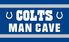 Indianapolis Colts Man Cave Flag