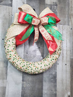 Load image into Gallery viewer, Christmas Wreath, Holly Berry Wreath
