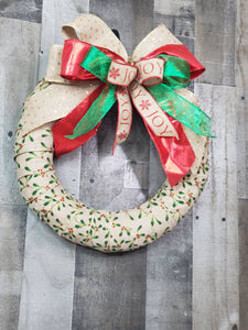 Christmas Wreath, Holly Berry Wreath