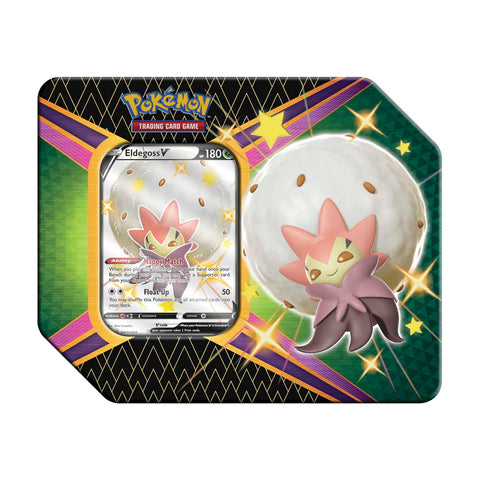 Pokemon Shining Fates Tin (Eldegoss V)