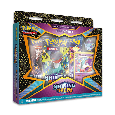 Pokemon Shining Fates Mad Party Pin Collection (Polteageist)
