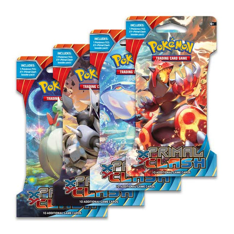 Pokemon XY Primal Clash Sleeved Booster (5 Count)