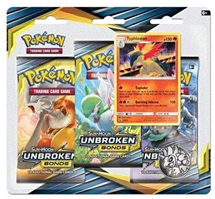 Pokemon: Unbroken Bonds 3 Pack Blister