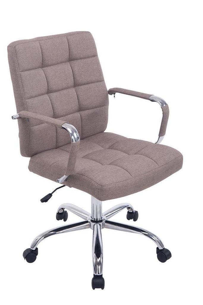Desk Office Chair, Executive Swivel Computer Chair, Comfortably padded seat & backrest, Ergonomic Fabric Office Chairs-Tradecentral LTD