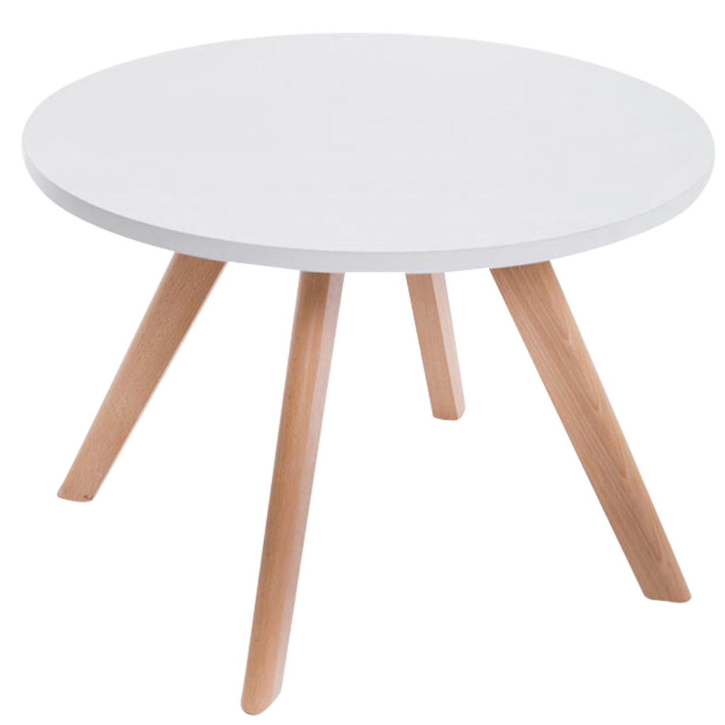 Round Dining Table, Elegant Dining Room Table Wooden Legs, Living Room/ Cafe / Kitchen Pedestal Tables, Dining Furniture