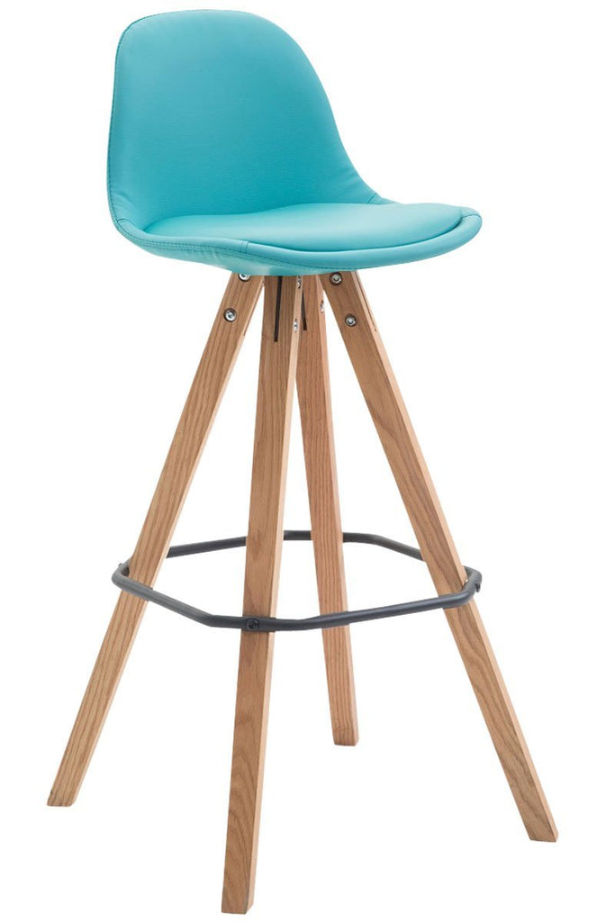 Bar Stool Fully Upholstered Counter Height Bar Chair Leather, Studio Stool Kitchen High Seat chairs