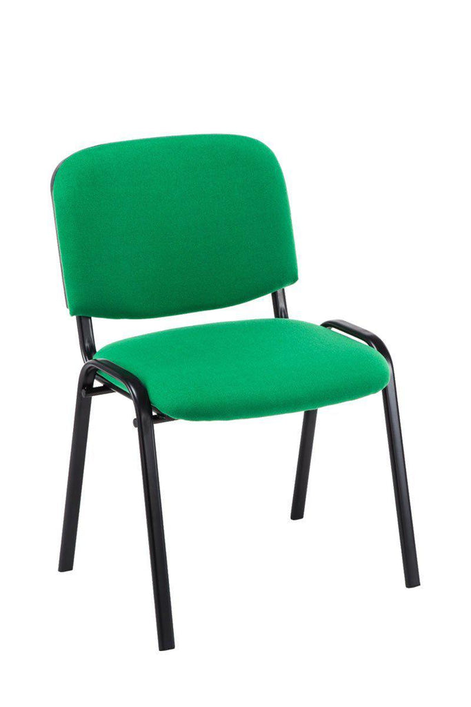 Visitor Chair Fabric,, Ergonomically Shaped Reception/ Waiting Room Chairs Stackable Canteens/ Cafe Dining Chairs-Tradecentral LTD