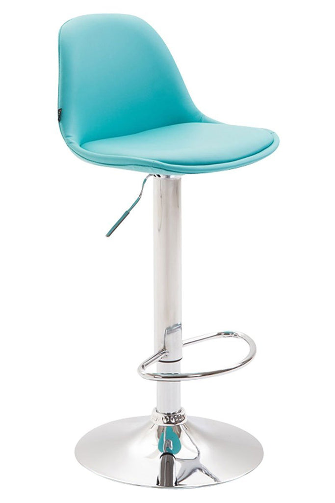 Bar Stool Studio/ Office/ Counter high Trendy Stool fully upholstered synthetic leather Kitchen high Seat Chair