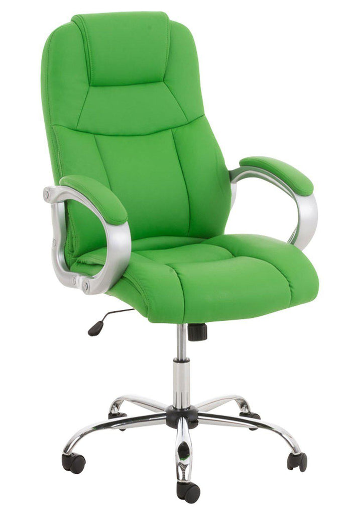Desk Office Chair, Swivel Computer Leather Chair, Upholster/ Ergonomic Office furniture, PC Office Chairs-Tradecentral LTD
