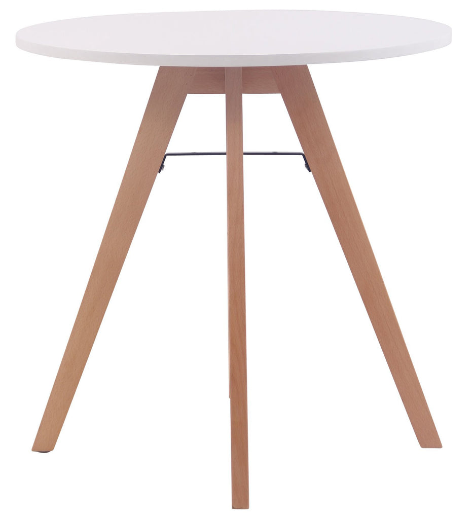 Kitchen Dining Table Round, Living Room/ Guest Room Round Tables, Kitchen / Coffee Shop Stool, Wood Dining Furniture Elegant Dining Table(75 CM )