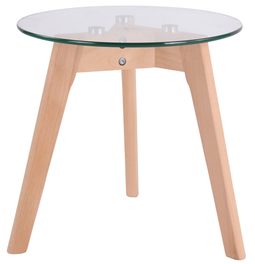 Glass Dining Table, Elegant Dining Room Table , Living Room/ Guest Room Round Tables, Kitchen / Coffee Shop Stool, Wood Dining Furniture 40 cm