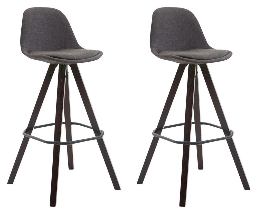 2 X Bar Stools Comfortable Height Seat Trendy Bar Chairs  Bar Stool Kitchen Counter Stools