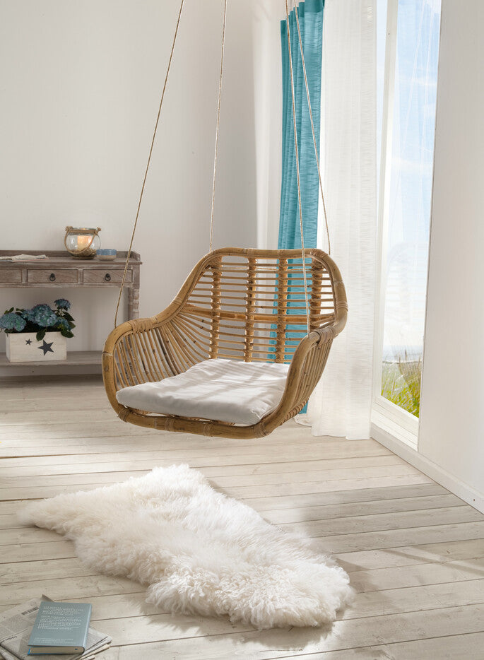 Rattan basket hanging chair swing chair rattan swing basket swing chair basket swing seat