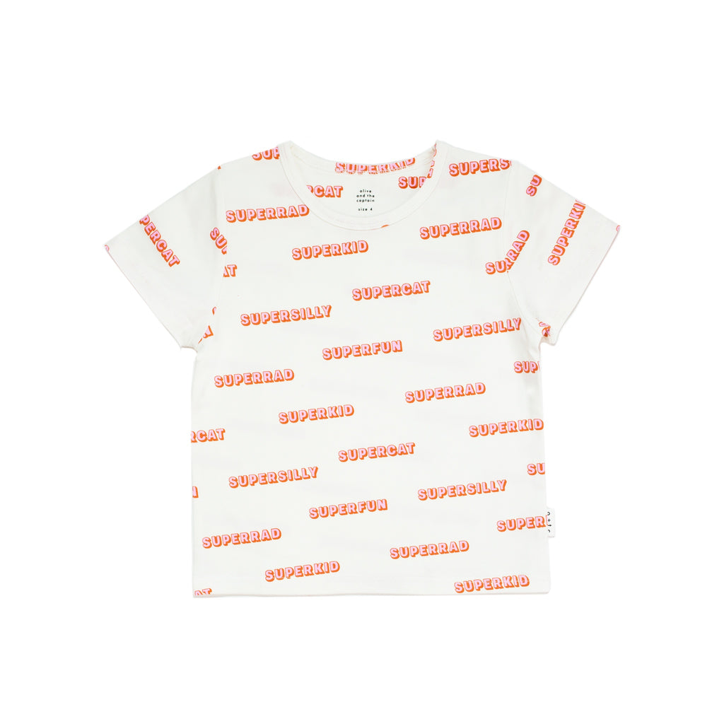 SUPER YOU TEE - WHITE