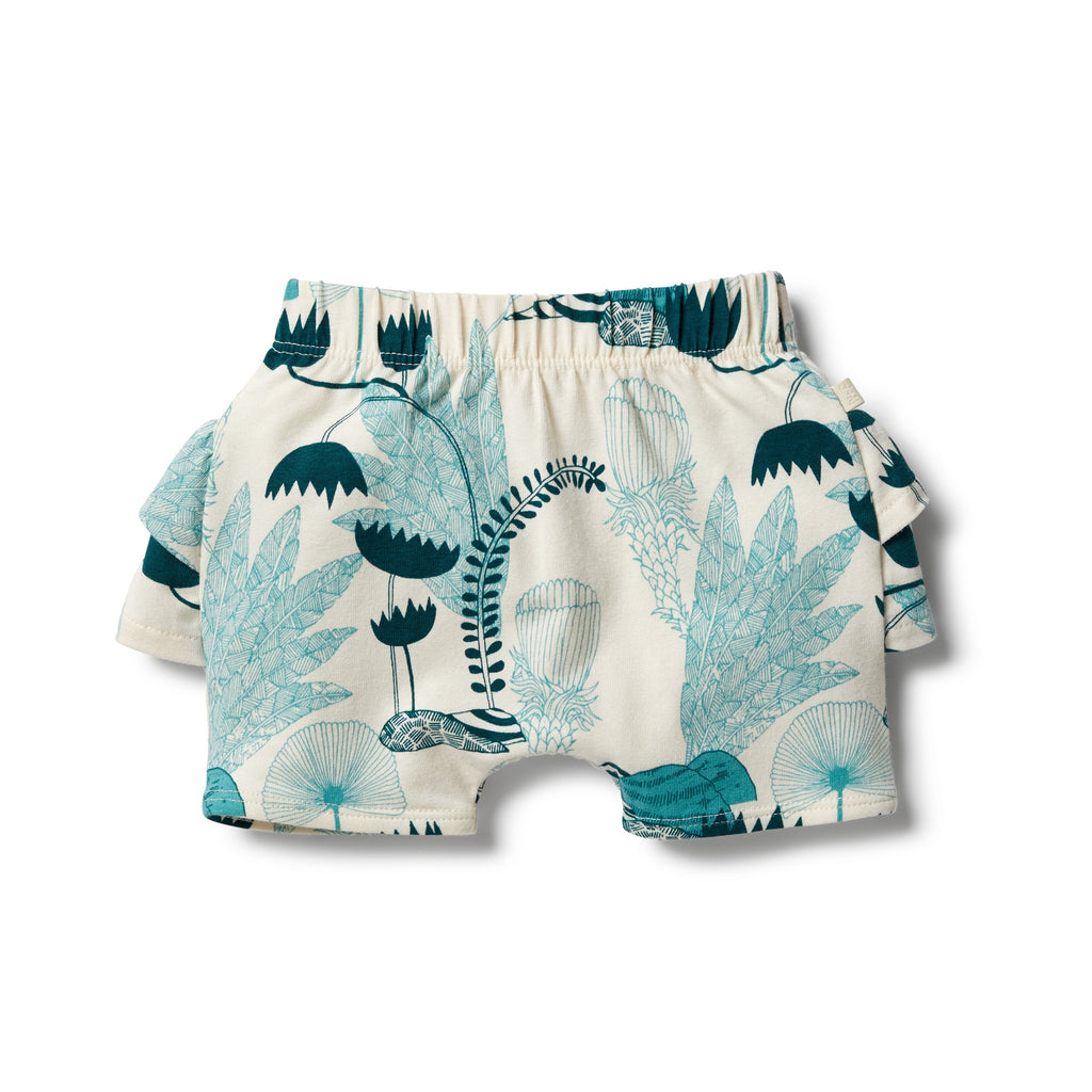 Organic Ruffle Short- Wonderful