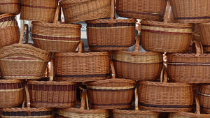 How to preserve wicker baskets