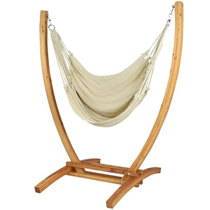 Jumbo Caribbean Recliner (Cream) - By Caribbean Hammocks