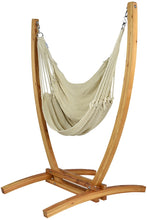 Load image into Gallery viewer, Jumbo Caribbean Recliner (Cream) - By Caribbean Hammocks