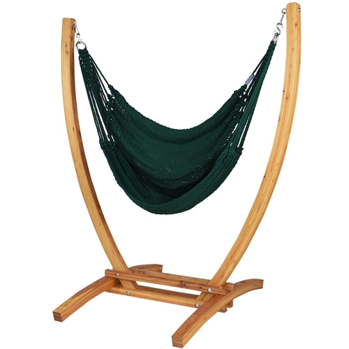 Jumbo Caribbean Recliner (Green) - By Caribbean Hammocks