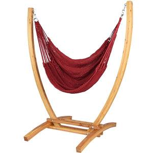 Jumbo Caribbean Recliner (Red) - By Caribbean Hammocks