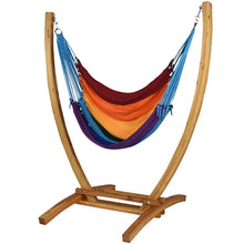 Load image into Gallery viewer, Jumbo Caribbean Recliner (Rainbow) - By Caribbean Hammocks