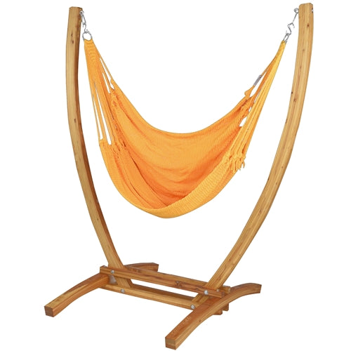 Jumbo Caribbean Recliner (Yellow) - By Caribbean Hammocks